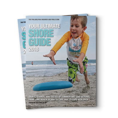 Your Ultimate Shore Guide 2018 - Front Cover