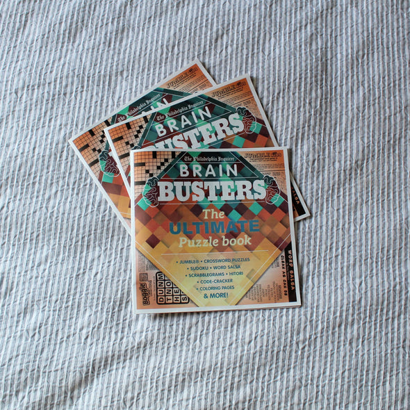 Brain Busters: The Ultimate Puzzle Book (2018)