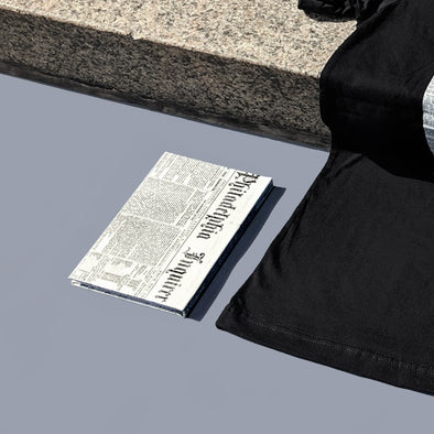 Archival Inquirer Hardcover Journal on Art Museum Steps
