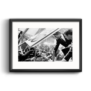 Bobby Captivates Camden Framed Print with Mat