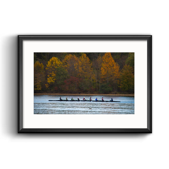 Holy Ghost Prep Crew Team Framed Print with Mat