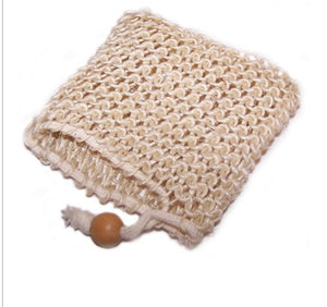 sisal bags for shower wash or shampoo