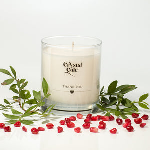 pomegranate scented candle
