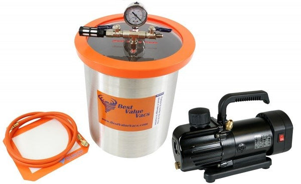 Best Value Vacs 3 Gallon Stainless Steel Vacuum Chamber