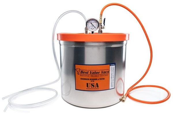 5 Gallon Resin Trap Vacuum Chamber