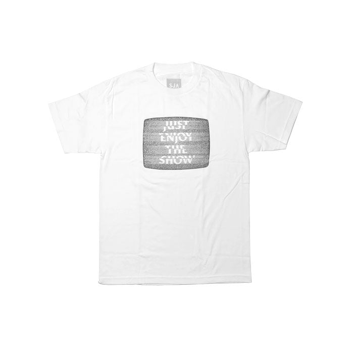 Just Enjoy The Show - T-Shirt White