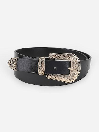 Western Buckle Belt - TAGVIN
