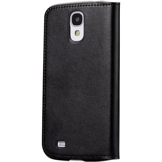 GGMM Kiss Series Real Leather Case for Samsung Galaxy S4 - Black - Gearlyst