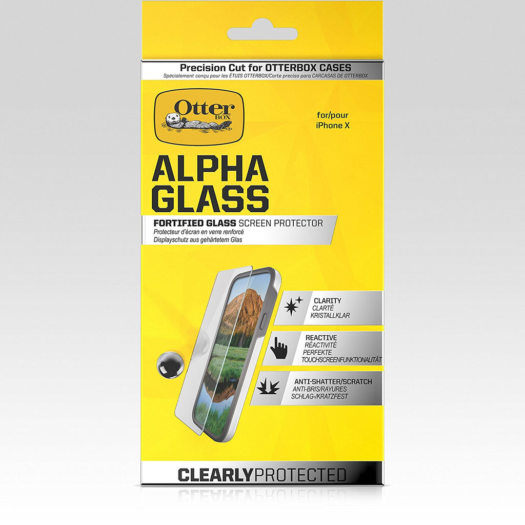 OtterBox Clearly Protected Alpha Glass Screen Protector for iPhone XS/X - Gearlyst