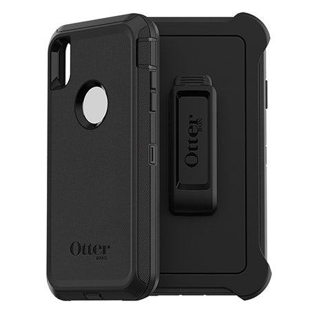 "OtterBox Defender Screenless Edition Rugged Case For iPhone Xs Max (6.5"") - Black - Gearlyst"