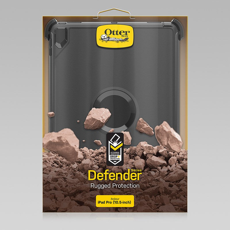 OtterBox Defender Rugged Cover for iPad Pro 10.5 inch - Black - Gearlyst