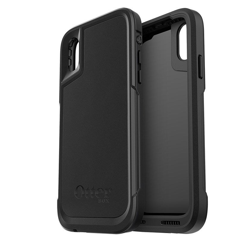 OtterBox Pursuit Tough Rugged Case For iPhone X - Black - Gearlyst
