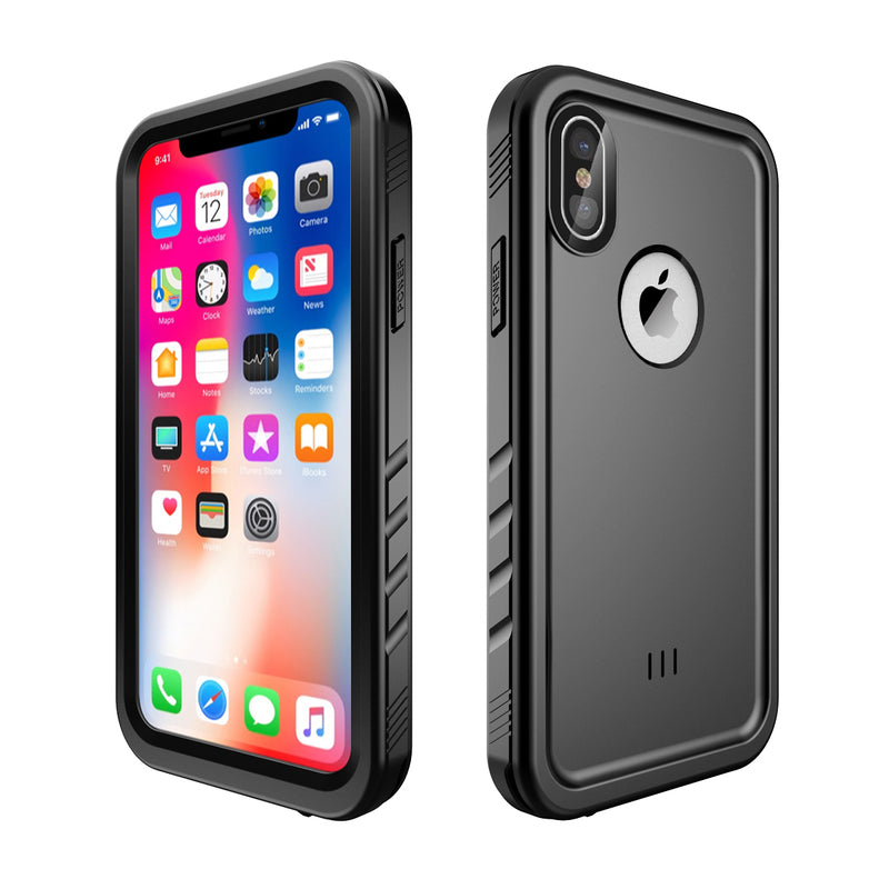 iPhone Xs/X WaterProof ShockProof Rugged Case DOTPRO - Black - Gearlyst