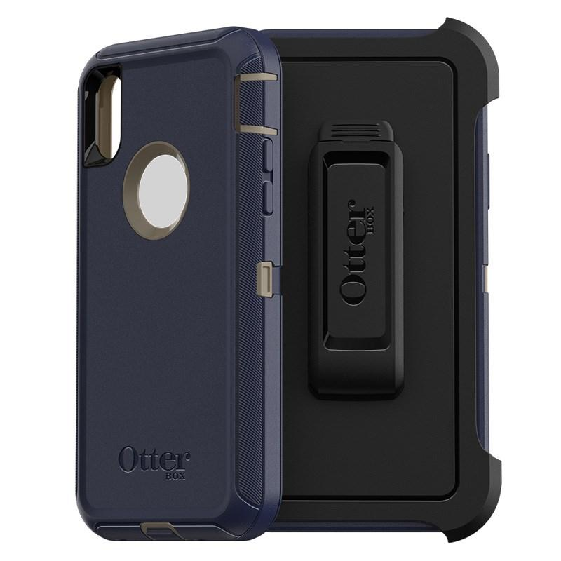 OTTERBOX DEFENDER RUGGED CASE FOR IPHONE X/XS - DARK LAKE - Gearlyst