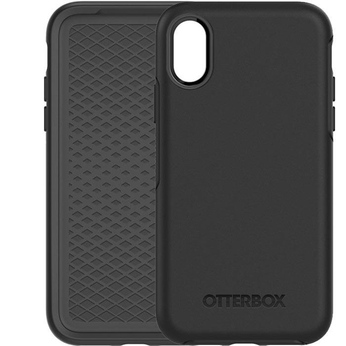 OtterBox Symmetry Tough Slim Case For iPhone XS/X - Black - Gearlyst