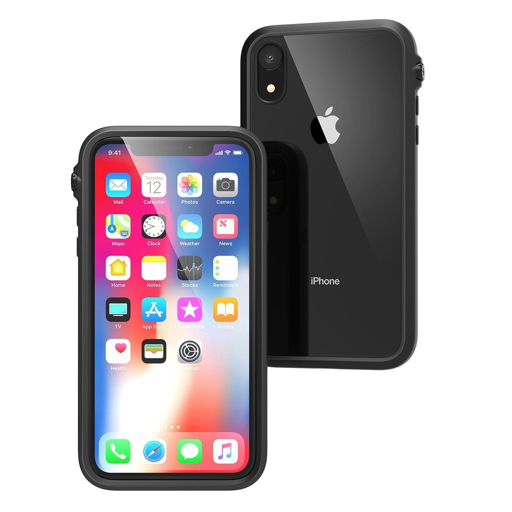 CATALYST Impact Protection Slim Rugged Case for iPhone XR 6.1 Inch - Black - Gearlyst
