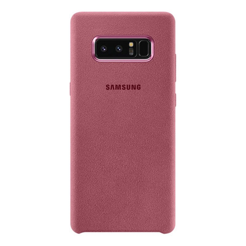 SAMSUNG GALAXY NOTE 8 ALCANTARA Premium COVER - PINK - Gearlyst