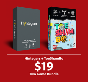 2019 Bundle - Hintegers + Toeshambo