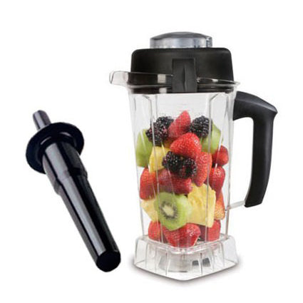 Vitamix Wet Blade Container with lid and blade with Tamper (64oz / 2L)