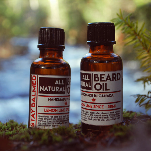 Beard Oil - Lemon Lime Spice