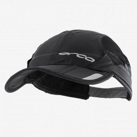 Orca - Unisex Foldable Cap Black