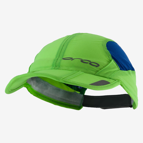 Orca - Unisex Foldable Cap Blue/Green