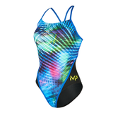 Michael Phelps - Womens Florida Racer Back L Multicolour Black