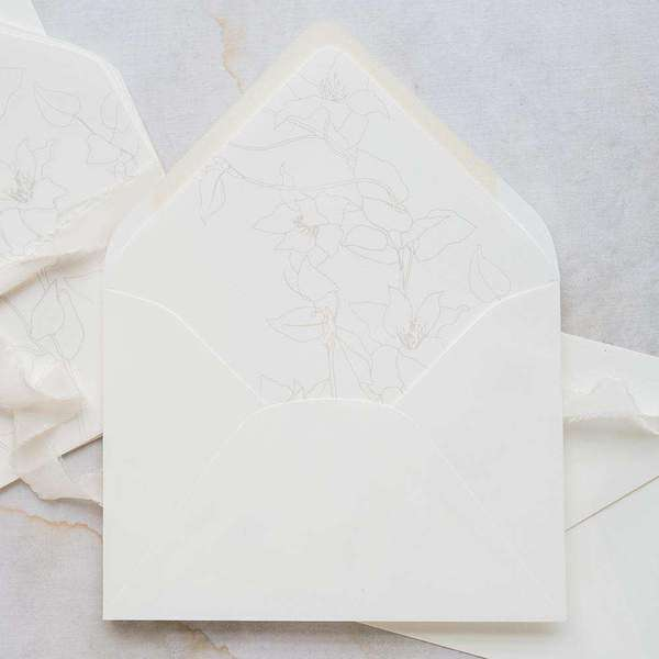 Botanqiue Envelopes (25 Pack)