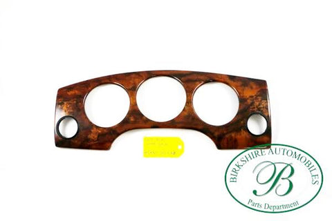 Jaguar Dash Trim Wood Grain part # GNC 7023 AB. Fits Jaguar XJ8 and Vanden Plas 1998-2003