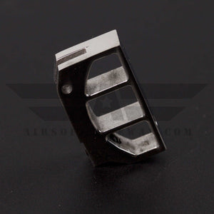 UAC Stainless Steel Trigger for Tokyo Marui Hi-Capa 5.1/4.3 - Type C - Silver