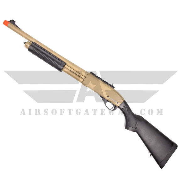 JAG Arms Gas Scattergun Airsoft Gas Shotgun HD TAN - airsoftgateway.com