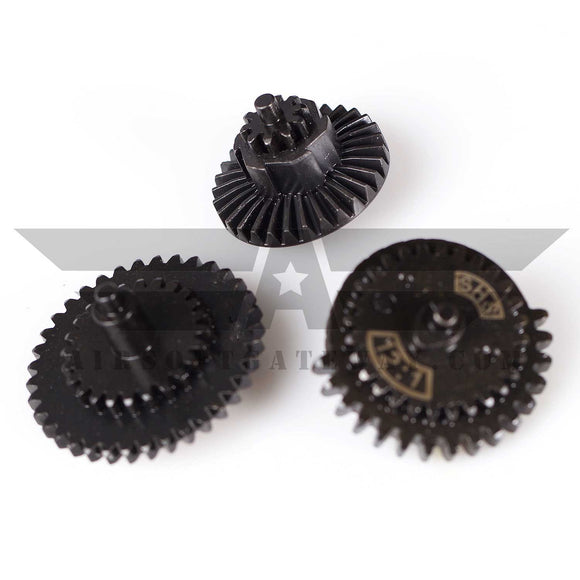 SHS Gear Set For V2/V3 With 10T Bevel - 12:1 Ratio - (#X25)