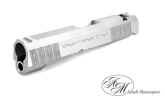 Airsoft Masterpiece Infinity Diamond 4.3 Slide - Silver - airsoftgateway.com