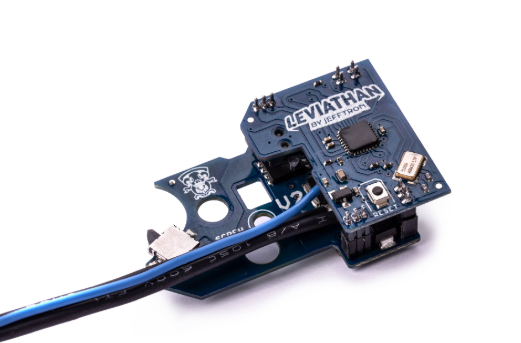 JeffTron Leviathan Airsoft Drop-In Programmable MOSFET Module Type: V2 / Wired To Stock