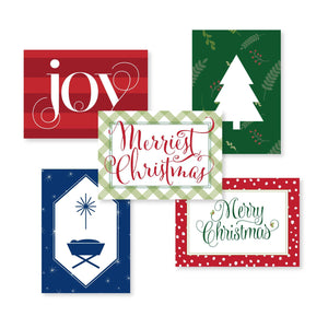 Christmas Enclosure Cards