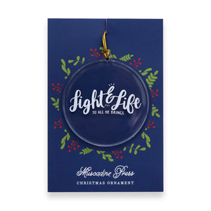 Light and Life to All He Brings. Share joy and truth this Christmas with cards from Muscadine Press.
