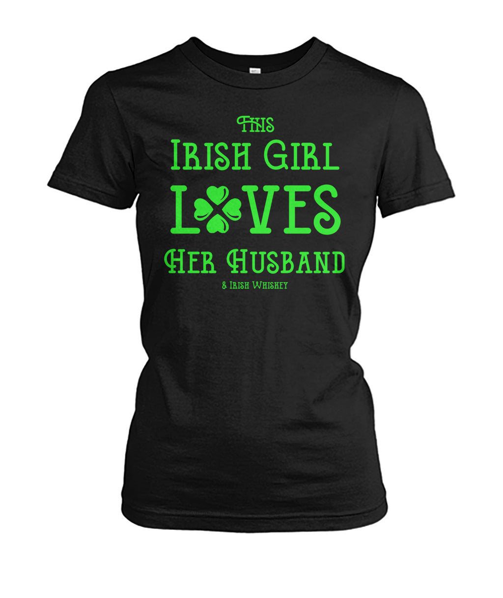 This Irish Girl Loves Her Husband & Whiskey