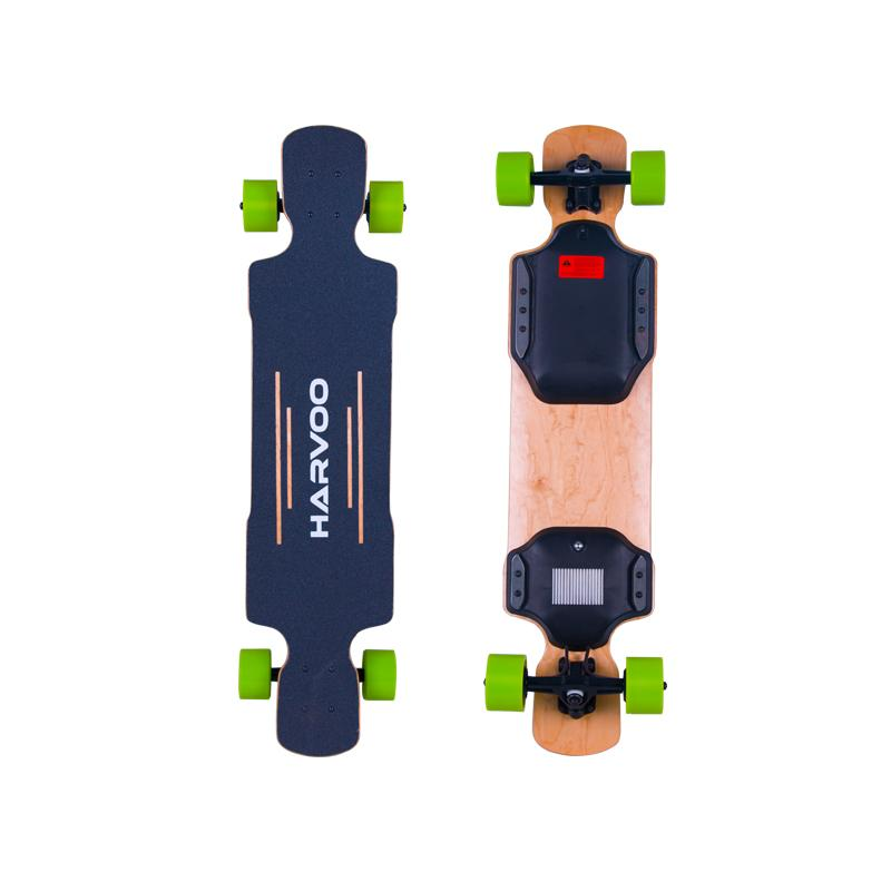 Electric Skateboard - 39 Inch Harvoo Electric Longboard-two Motors