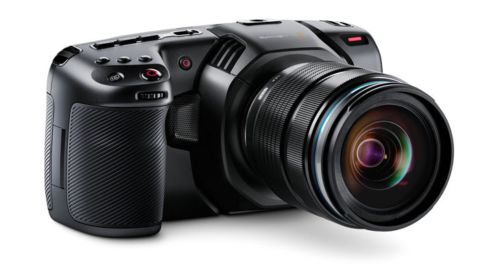 Blackmagic Pocket Cinema Camera Front Angle