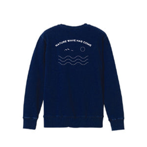 NATURE WAVE CREW NECK SFL-355