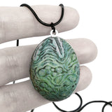 Alien Egg Locket green