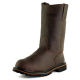 Texan Steel Toe EH Water Resistant Wellington Work Boot