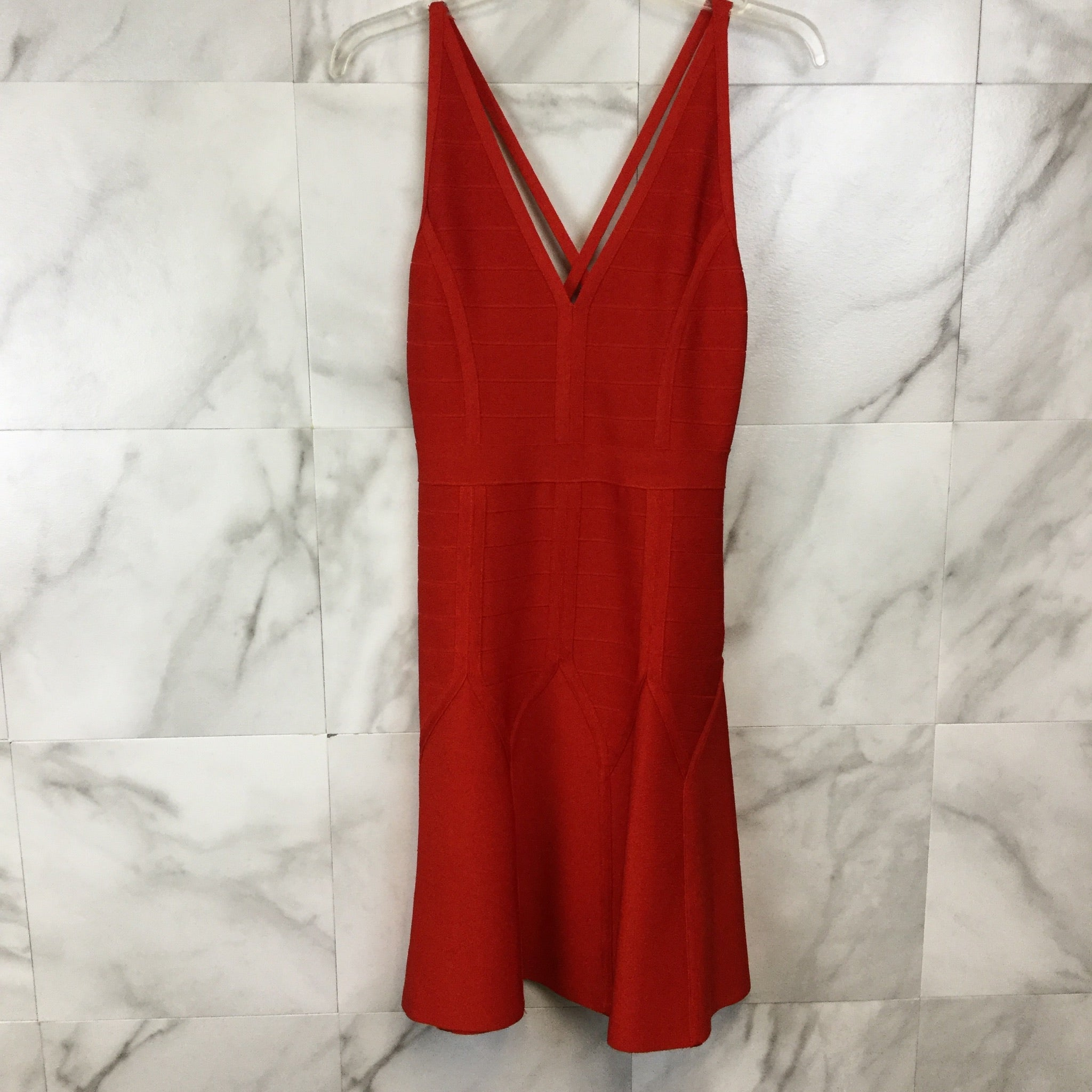 Topshop Bandage Skater Dress - size 6