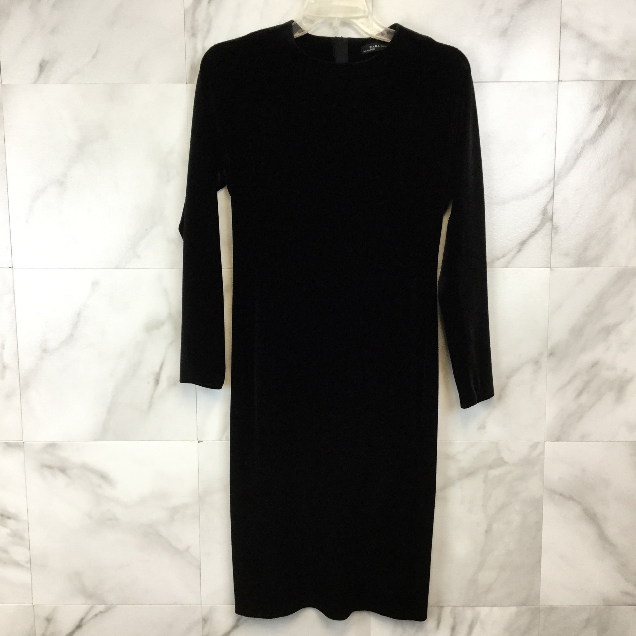 Zara Velvet Midi Dress - size M