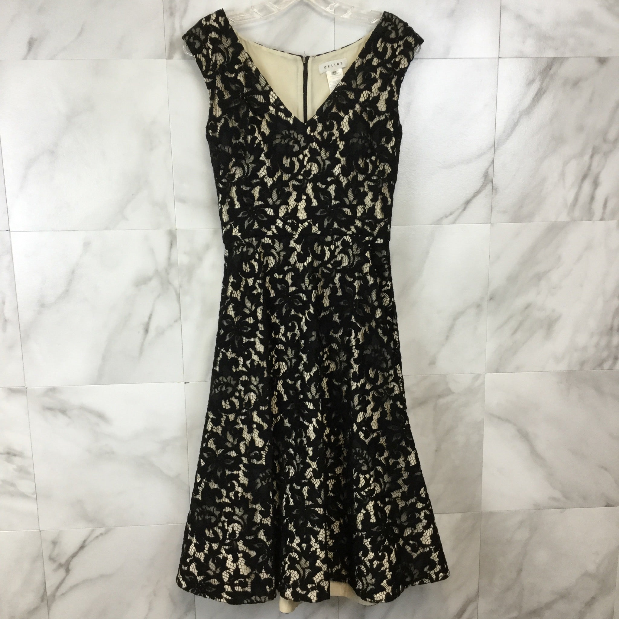 Celine Midi Lace Dress - size 6
