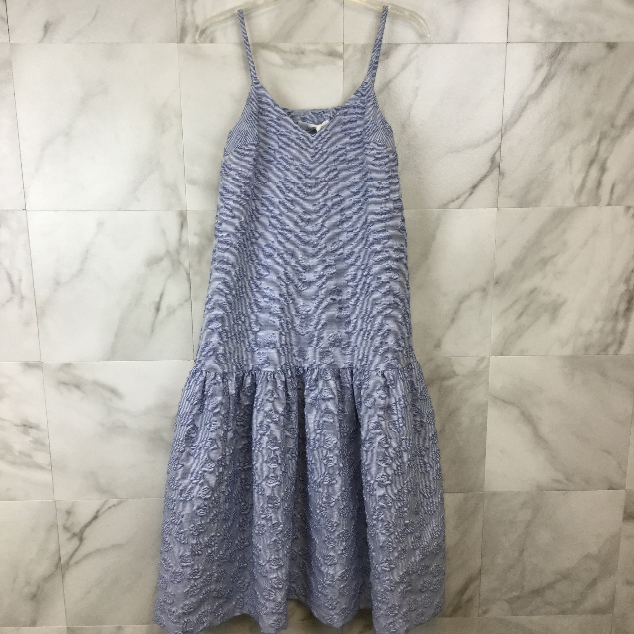 Co. Seersucker Drop Waist Dress - size XS