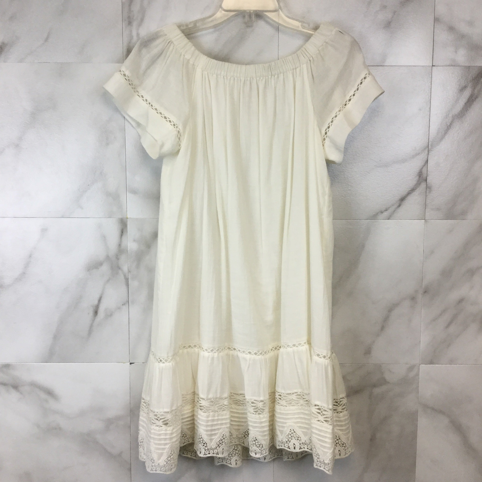 Rebecca Taylor Off Shoulder Cotton Dress - size 2