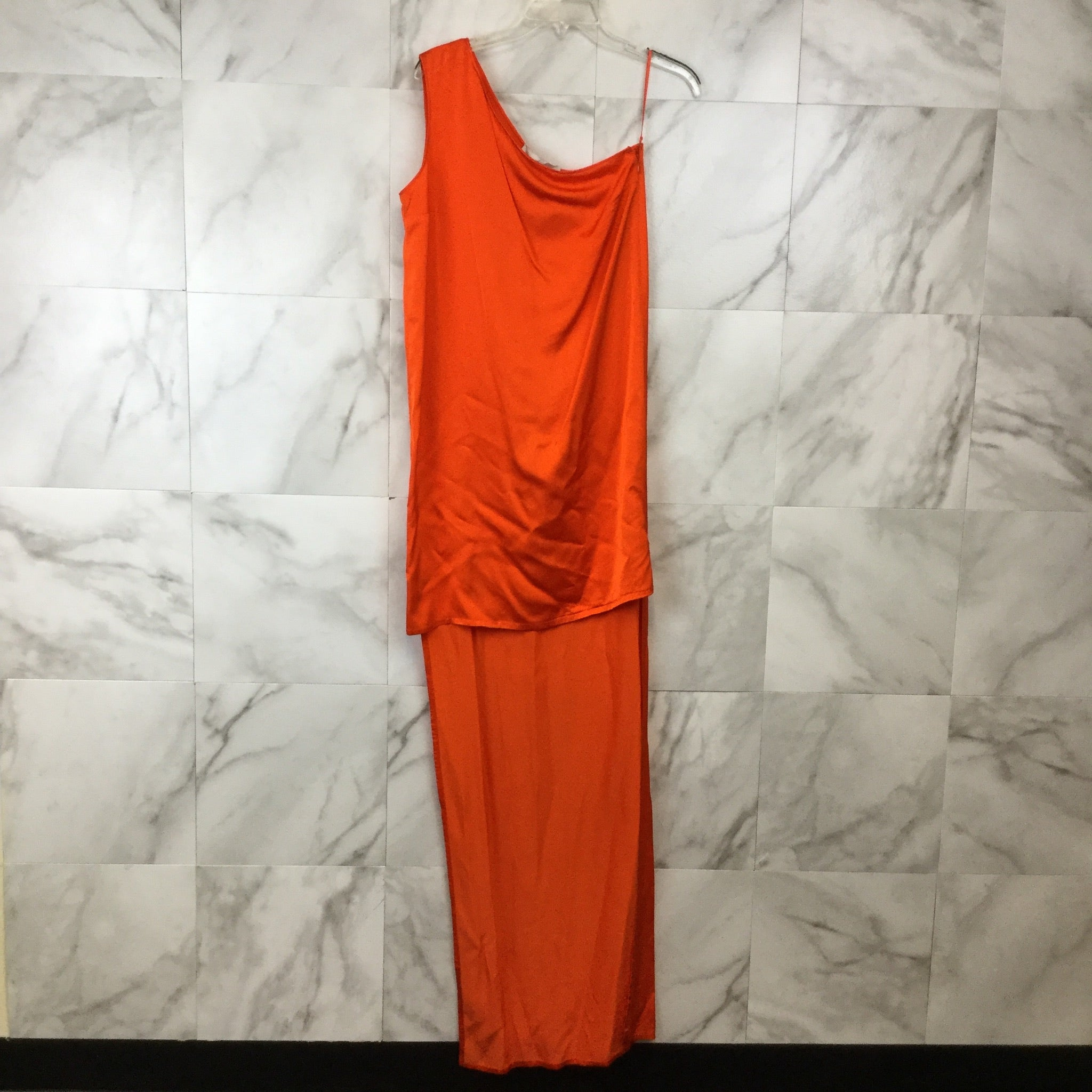 Stella McCartney One Shoulder High-Low Dress - 42