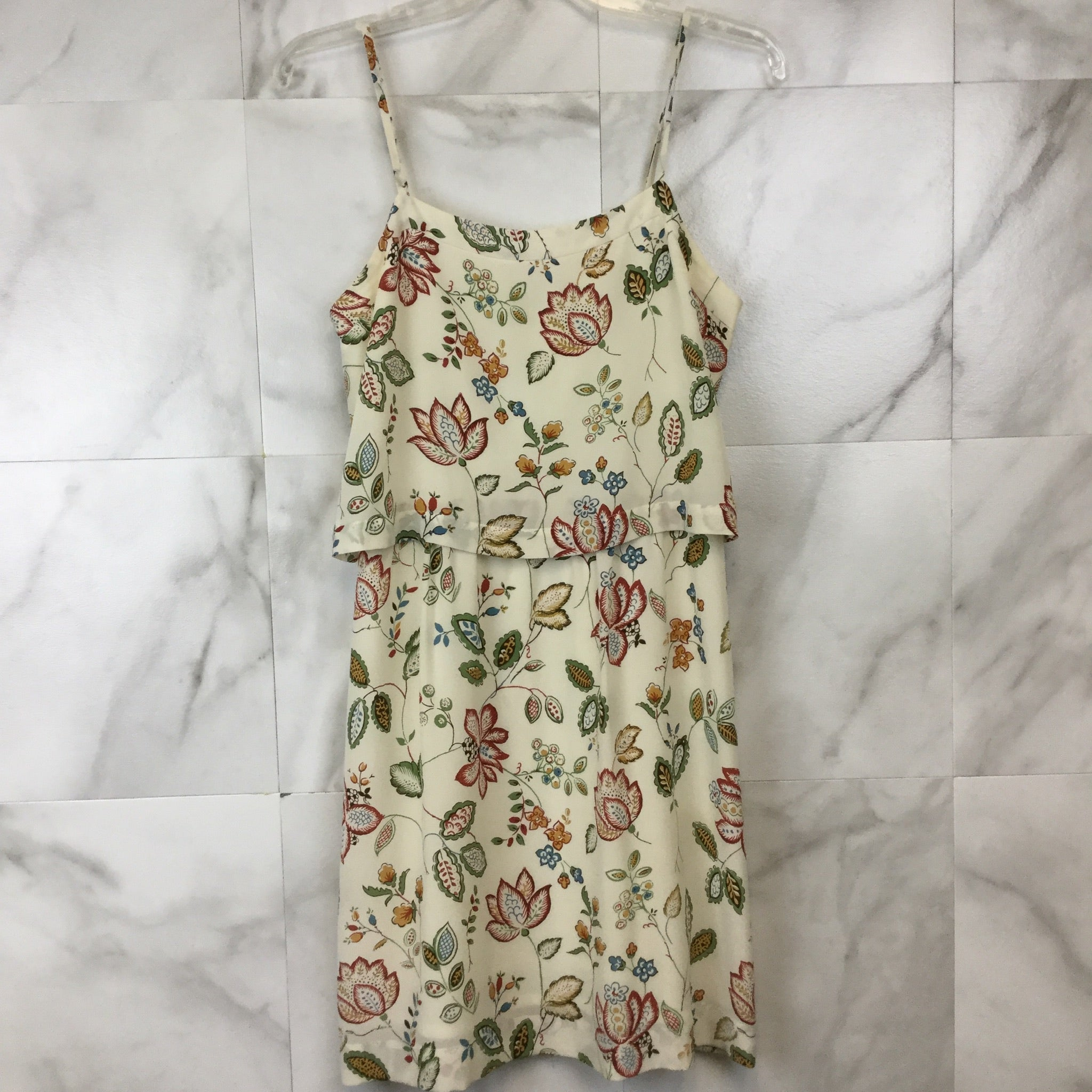 Madewell Silk Overlay Cami Dress - size 2