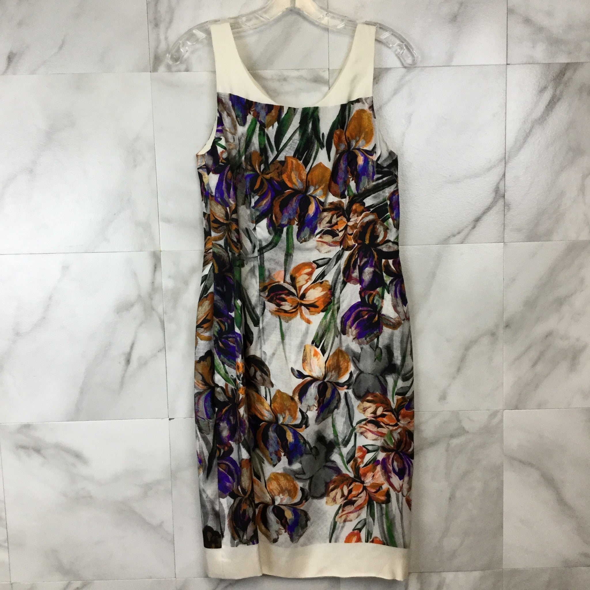 Dries Van Noten Floral Sheath Dress - size 38